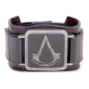 Assassin's Creed Armband mit Metall-Logo