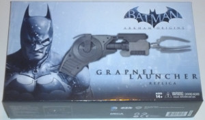 Batman Arkham Origins Grapnel Gun (Enterhakenpistole)