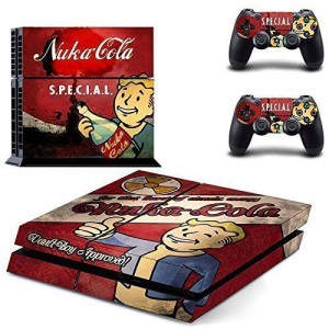 PS4 Skins Fallout – S.P.E.C.I.A.L Nuka Cola Vault Boy Approved