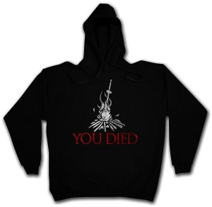 Dark Souls 3 Hoodie Firelink Shrine You Died