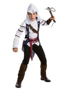 Connor Kenway Kostuem Assassins Creed 3 fuer Kinder 2