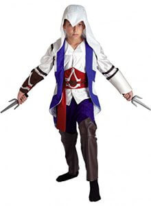 Connor Kenway Kostuem Assassins Creed 3 fuer Kinder