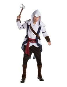Connor Kenway Kostuem aus Assassins Creed 3 fuer Erwachsene