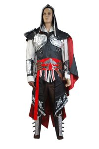 Ezio Auditore Kostuem Assassins Creed 2 schwarz