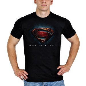 Superman T-Shirt Man of Steel