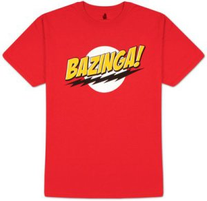 The Big Bang Theory T-Shirt Bazinga